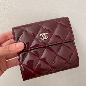 Chanel Patent French Wallet